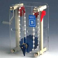 Compact Model Crossed Ball Chain drive