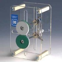 Compact Model Herring Bone Gear Drive